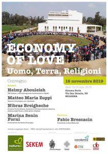 Economy of Love: Uomo, Terra, Religioni